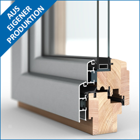 Fensterbau Schmid GmbH Holz-Aluminium-Fenster
